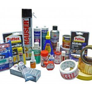 Adhesives, Sealants & Tape